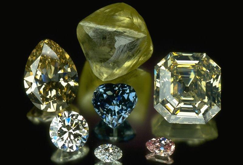 rare fancy colored diamonds